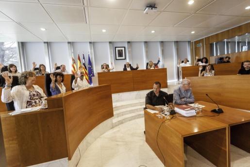 Los consellers votaron por unanimidad aprobar el proyecto de planta de triaje en Ca na Putxa