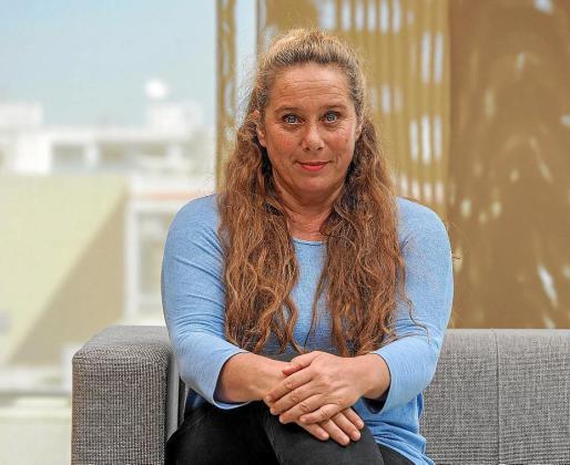 La secretaria general de Podemos Ibiza, Viviana de Sans