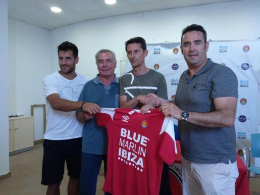 De izquierda a derecha: Marcos Contreras, Toni Marí 'Moreras', Antonio Manuel Racero 'Puma' y Sergio Tortosa.