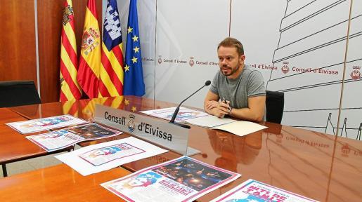 Imagen de la presentación del festival celebrada ayer en el Consell d'Eivissa.