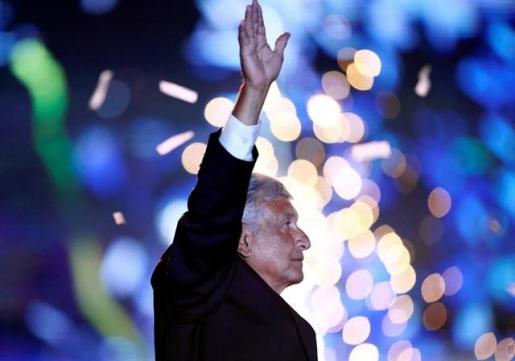 López Obrador gana las elecciones en México.