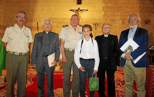 Teodoro Pou, Joan Nadal, Juan Cifuentes, Pablo Nicolás Segade, que interpretó piezas al violín; Manuel Redondo y Raúl Izquierdo.
