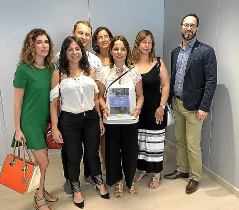 Estefanía Uriarte, Juana Abraham, Pawel Kresimon, Marina Martín Ballestero, Yolanda Rodríguez, Ana Moreno y David López.