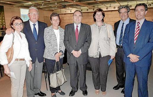 Marga Salom, José Matas, Carmen Serra, Antoni Sorá, Susana Cañellas, Gaspar Caballero y Xavier Bonet.