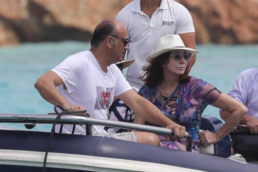 Ana Rosa Quintana ya está de vacaciones en las Pitiusas.
