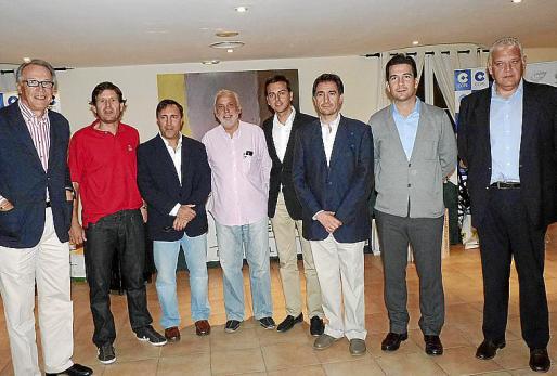 Álvaro Middelmann, Mateu Alemany, Juan Andrés Ruiz, Tomeu Sastre, Javier Morente, Xavier Bonet, Fernando Gilet y Damiá Vich.