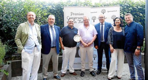 El premio se entregó ayer por la tarde en la terraza Arzabal del Museo Reina Sofía de la capital de España.