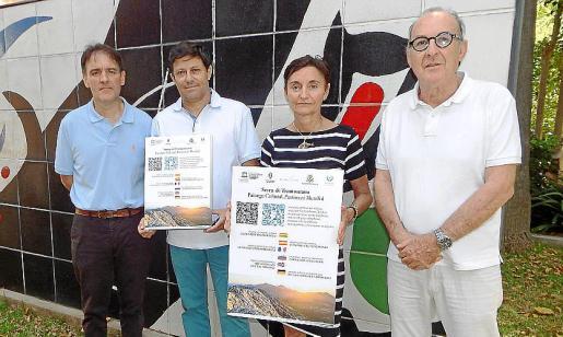 Bartomeu Deyá, Óscar Mayol, Carmen Pinar y Óscar Pipkin.