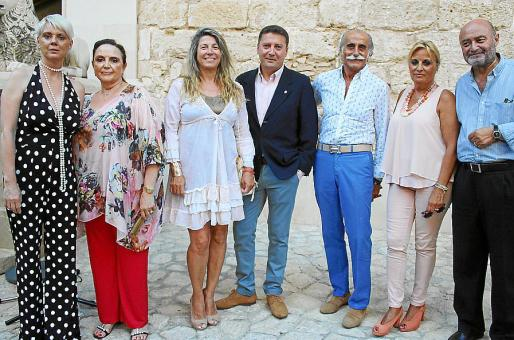 Aina Aguiló, Ángela Truyols, Claudia Suárez Neuhaus, Jesus Coll, Tià Sitjar, Tinos Miró y Sebastià Roig.
