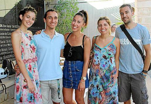 Yará Cernich, Albert Ramon, Carlota Pons, Laura Ramon y Tomás Moyá.