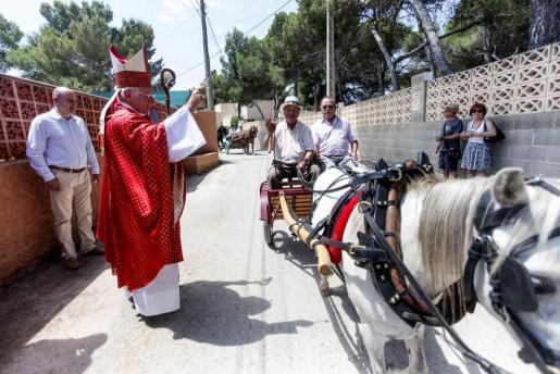 Sant Cristòfol, patrón de los conductores y las paellas.
