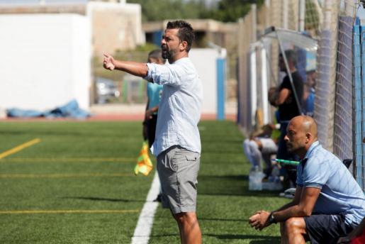 Imagen de archivo de García Sanjuán durante su etapa en el Formentera.