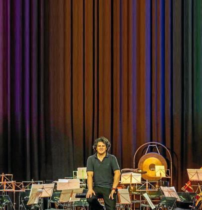 El director de orquesta Sergio Alapont.