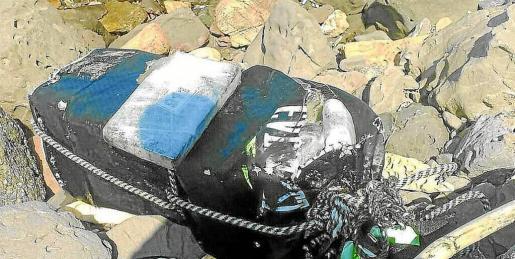 Las detenciones se desencadenaron tras el hallazgo de el saco de boxeo cargado de cocaína en Formentera.