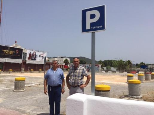 Sant Antoni abre un nuevo aparcamiento disuasorio en la avenida Doctor Fleming.