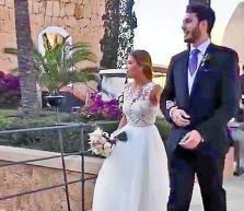 Álex Abrines y Carla García se casan