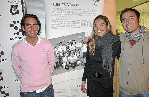 Nono Oliver, Fanny Guerrero y 'Bruno 2,3', doctor residente.