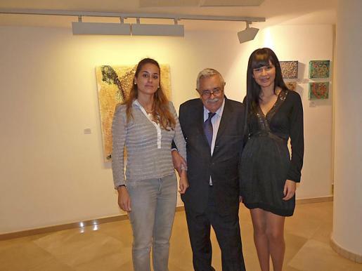 Rosa Vanrell, Pere A. Serra y Ana Subiela.