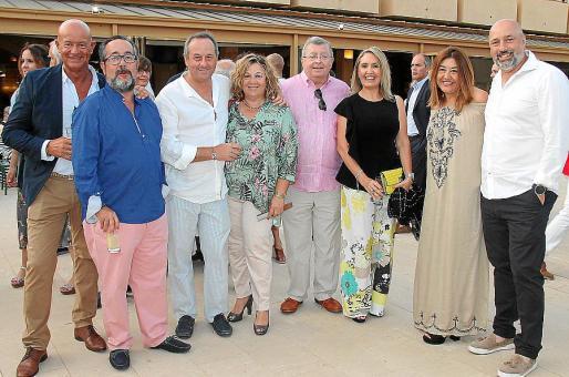 Miquel Rullán, Fernando Ibáñez, Miquel Rigo, Maria Socies, Joan Juan, Marga Pizà, Fanny Clar y Bernat Clar.