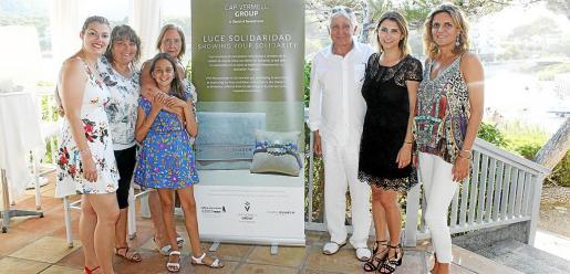 Joana Fullana, Antònia Coll, Laia Moreno, Eulalia Rubio, Jaume Coll, Cristina Beteta e Isabel Guarch.