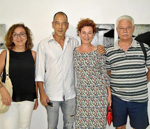 Lucía Martín, Ricard Chiang, Magda Molina y Javier Narváez.