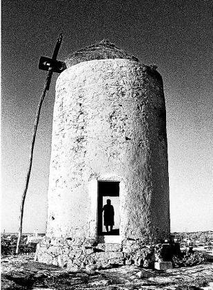 Fotografía en blanco y negro que se puede ver en la muestra.