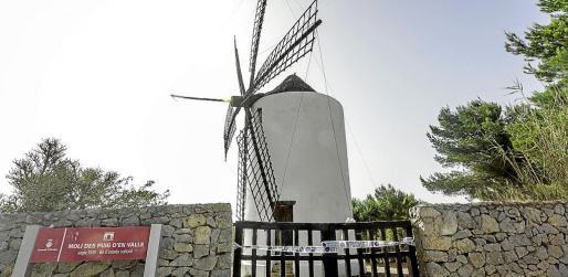 El Consell d'Eivissa, propietario del molino, tiene que reparar los desperfectos.