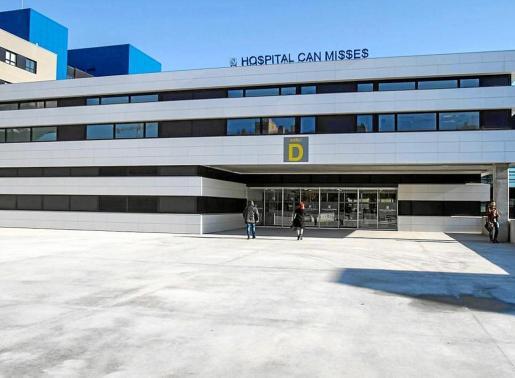Imagen de la entrada al hospital de Can Misses.