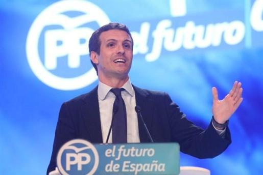 Casado convocará el Comité Nacional del PP el jueves en Barcelona.