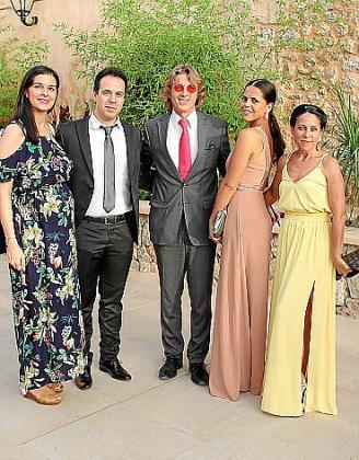Cecília Montero, Ramón Albarrán, Dieter Bauman, Naomie y Elena Martín.