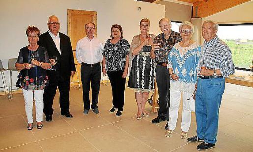 Micaela Adrower, Luis Delgado, Juan González de Chaves, Lydia E. Corral, Genia Tobin, Tomeu Estarás, Ana Pericás y Xisco Moranta.