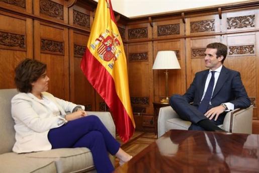 Casado rechaza la proporcionalidad del 43% que pide Santamaría.