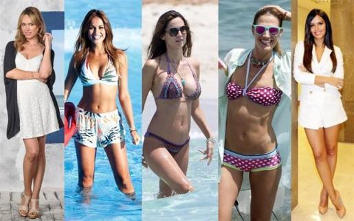 Pedroche, Lara Álvarez, Ariadne Artiles, Patri Conde y Laura Sánchez en el top 5 mejores piernas de 'Miss Soleil'.