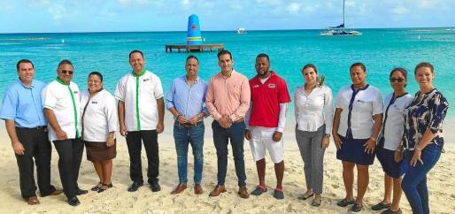 Hace escasos días se presentó la restauración del emblemático muelle flotante situado enfrente del Riu Palace Antillas, en Aruba, una acción solicitada por la población local y patrocinada por Riu Hotels & Resorts.