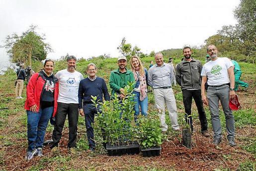 Campaña de reforestación en Gran Canaria en colaboración con la fundación Plant-for-the-Planet.