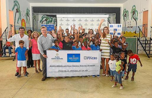 Grupo Piñero colabora con el hogar Nuestros Pequeños Hermanos, situado en La Romana (República Dominicana).