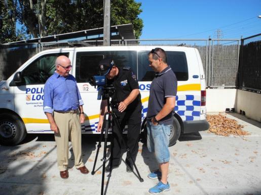 La Policía Local de Sant Antoni controlará el núcleo urbano con un radar móvil.