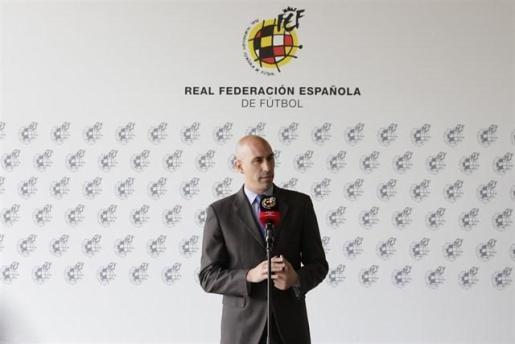 Imagen del presidente de la Real Federación Española de Fútbol (RFEF), Luis Rubiales.