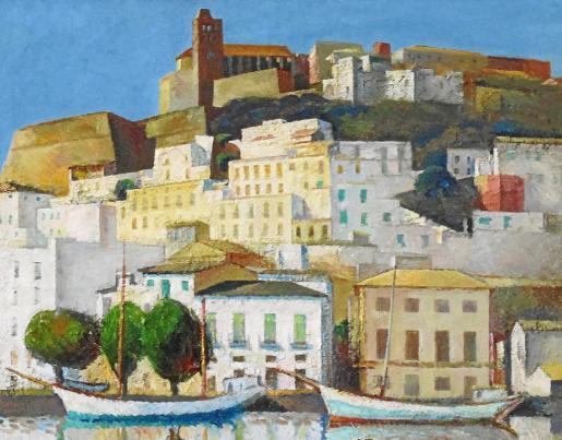 Las obras de Carloandrés estarán expuestas en Es Polvorí y el Refectorio del Ayuntamiento hasta el 30 de agosto.
