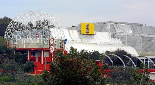 La discoteca Privilege, situada en una urbanización de Sant Rafel, está considerada como una de las más grandes del mundo.