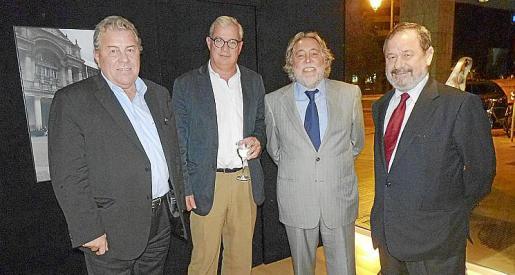 Francisco Vidal, José Luis Roses Ferrer, Juan Carlos Rosselló y Vicente Rotger.