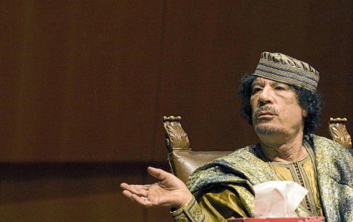 Gadafi, en una imagen de archivo.