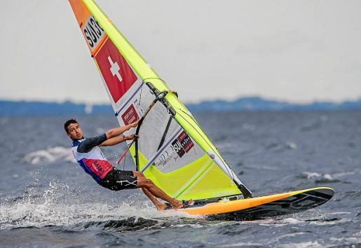 Mateo Sanz, en acción en el Campeonato del Mundo que se está celebrando en Aarhus.