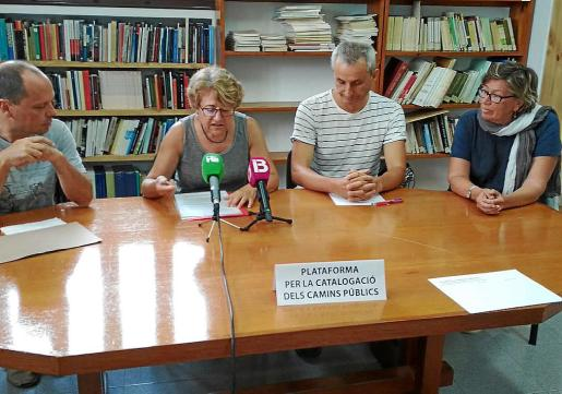 El colectivo se presentó ayer en una rueda de prensa en el Institut d'Estudis Eivissencs.