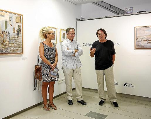 La muestra se inauguró el pasado viernes y se podrá visitar hasta el próximo 2 de septiembre en la sala de exposiciones de Can Jeroni de Sant Josep.