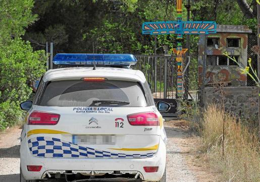 Imagen de un coche patrulla durante las inspecciones realizadas en julio de 2017.