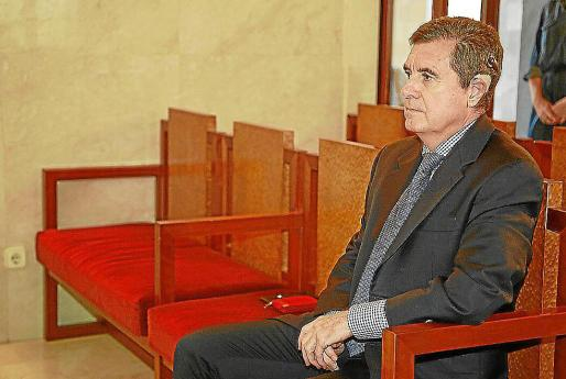 Jaume Matas, durante el juicio del 'caso Ópera' en la Audiencia.