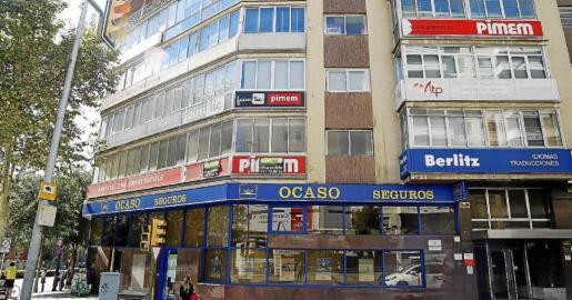 Fachada de la sede de la PIMEM en Mallorca