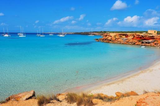 Imagen de Cala Saona en Formentera. Foto: REDACCIÓN