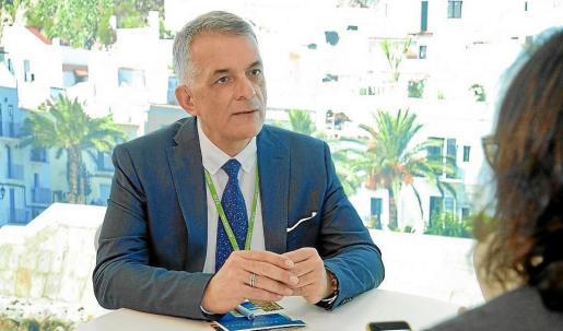 Vicent Torres 'Benet', director insular de Turismo, cree que «Ibiza ha crecido como marca en base a la tolerancia y el respeto».